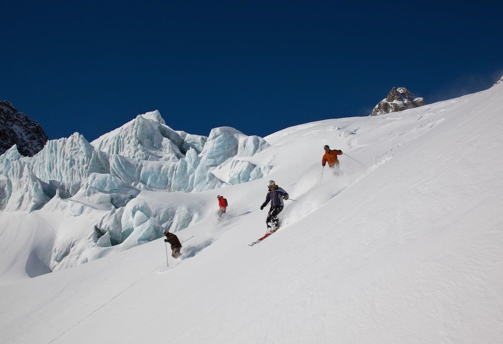 New Zealand's best Heliskiing in NZ - 1.5 hours from Christchurch