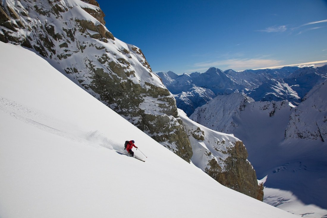 The best Heliskiing in New Zealand